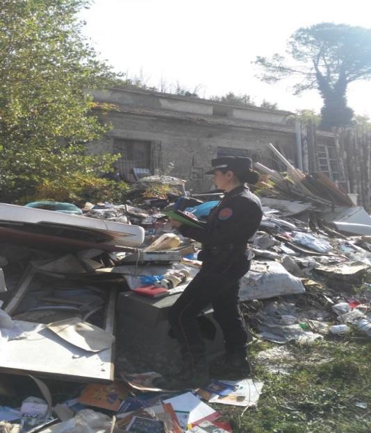 Apice (Bn). Sequestrata dai Carabinieri Forestali una discarica abusiva