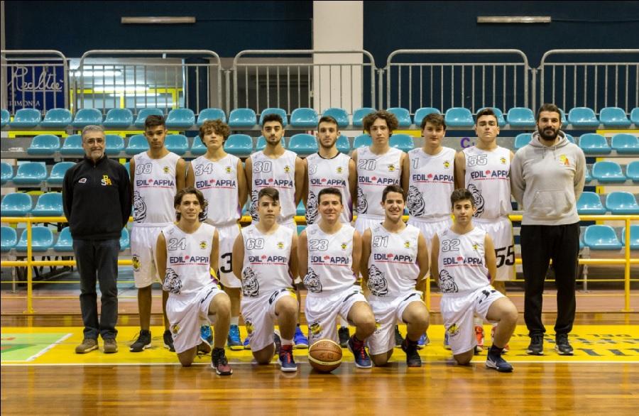 Promozione, l'Edil Appia Basket sant'Agnese cade sul campo di Pozzuoli