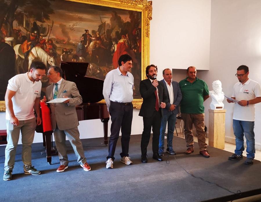 Il vicesindaco di Solopaca Galdiero (PD) presente agli Stati Generali della Cultura a Napoli 21 -22 Ottobre.