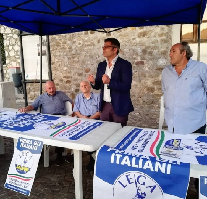 """Ricciardi (Lega): """"Costante il dialogo con il Territorio Sannita per promuovere il Programma alle prossime Regionali"""""""