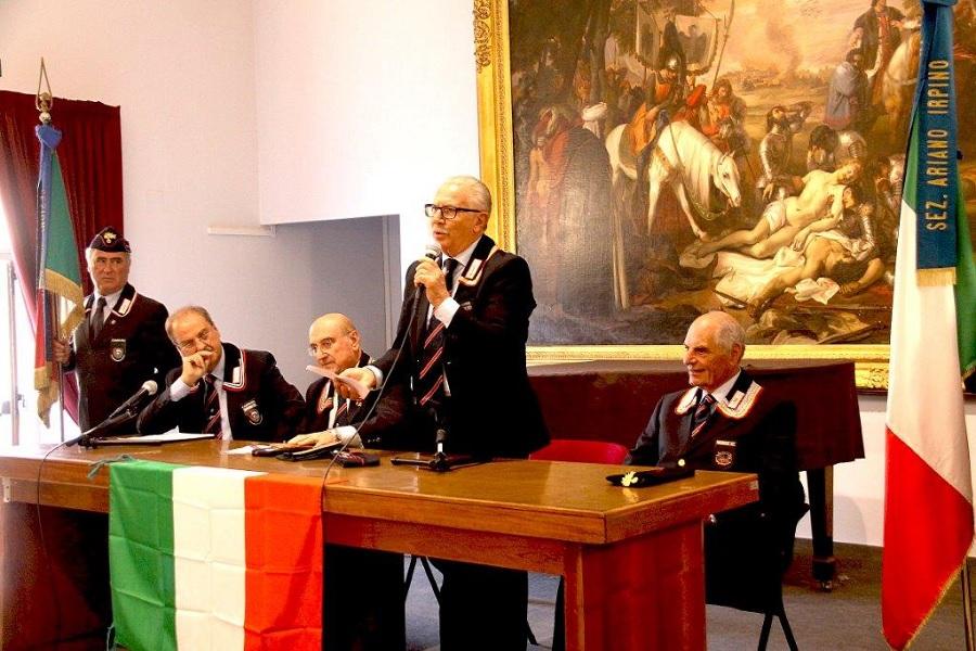 Gemellaggio tra le sezioni di Carabinieri in Congedo di Benevento e Ariano Irpino