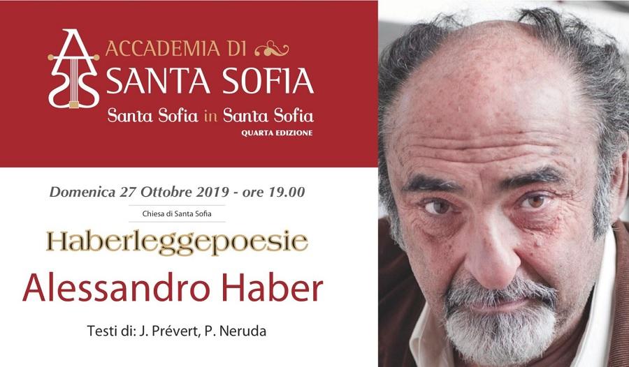 "Quarta Edizione  di ""Santa Sofia in Santa Sofia"". Haberleggepoesie da Prévert a Neruda passando per Santa Sofia."