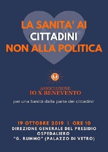IoX Benevento: il 19 ottobre protesta presso la direzione del Ospedale San Pio sui disagi dell'utenza.