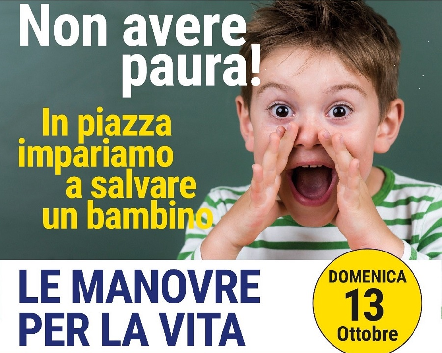 """Domenica in Piazza Castello: """"Le Manovre per la Vita"""""""