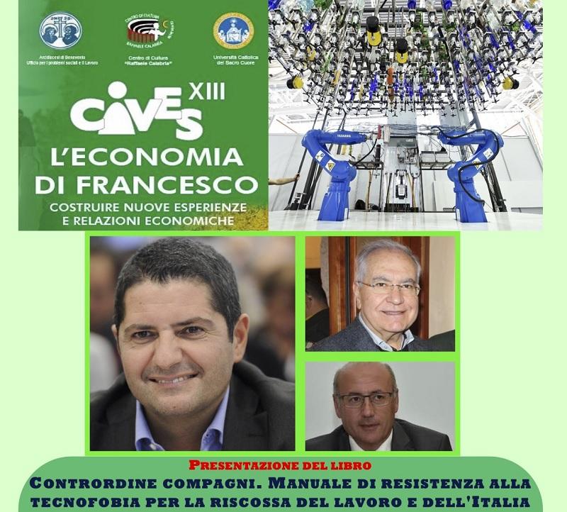 Cives: Presentazione del Libro di Bentivogli per riflettere sulle Opportunità dell'Industria 4.0