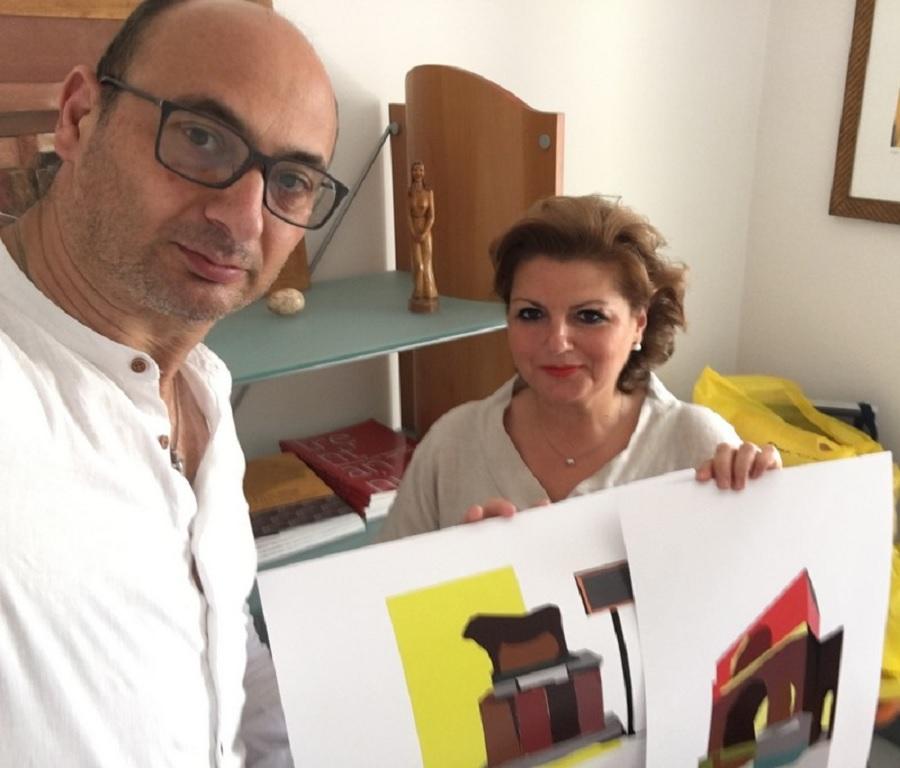 """Donate opere raffiguranti monumenti di Benevento """"imagine visiting"""""""