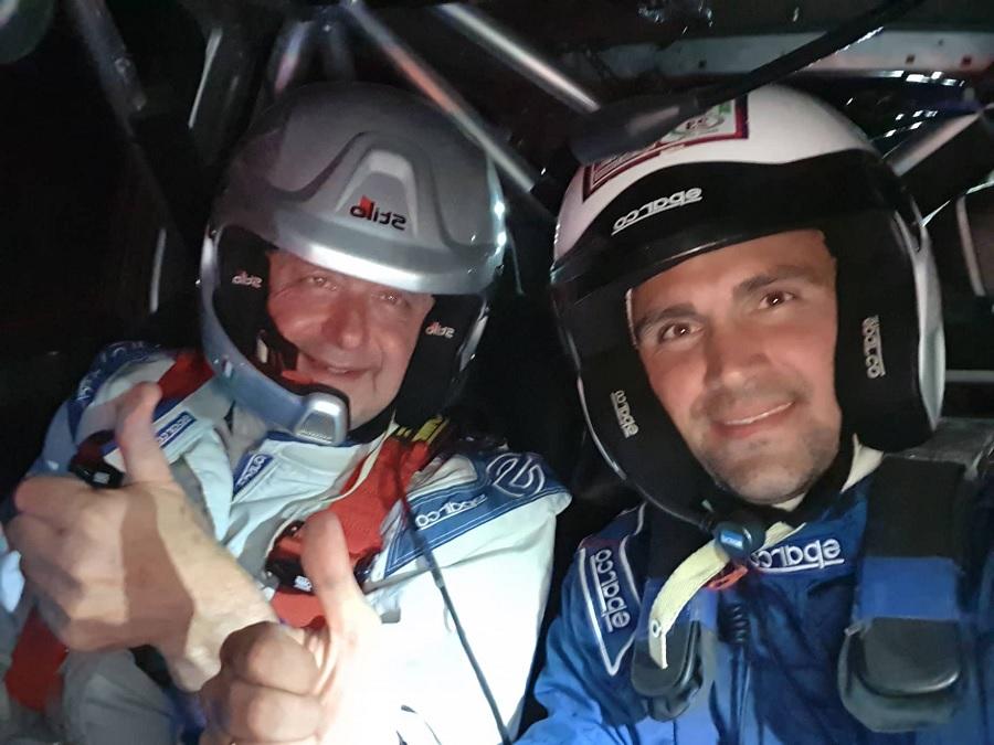 Alfonso De Nicola e Marco Costantini Protagonisti al Rally  del Molise