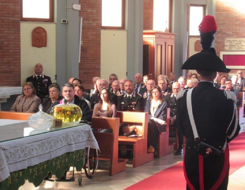 Ponte. 49° anniversario della morte dell'appuntato dei Carabinieri Vittorio Umberto Vaccarella