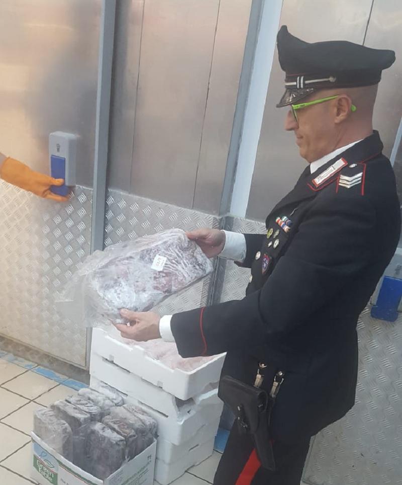 Telese Terme: Controlli e Sequestri dei Carabinieri Forestali sulla vendita di Prodotti Ittici.