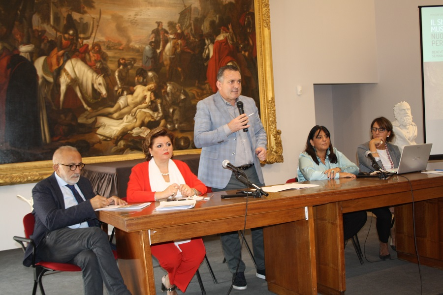 """Rete nazionale tra musei. Creta: """"Benevento già oltre. Ora adeguamento agli standard internazionali"""""""