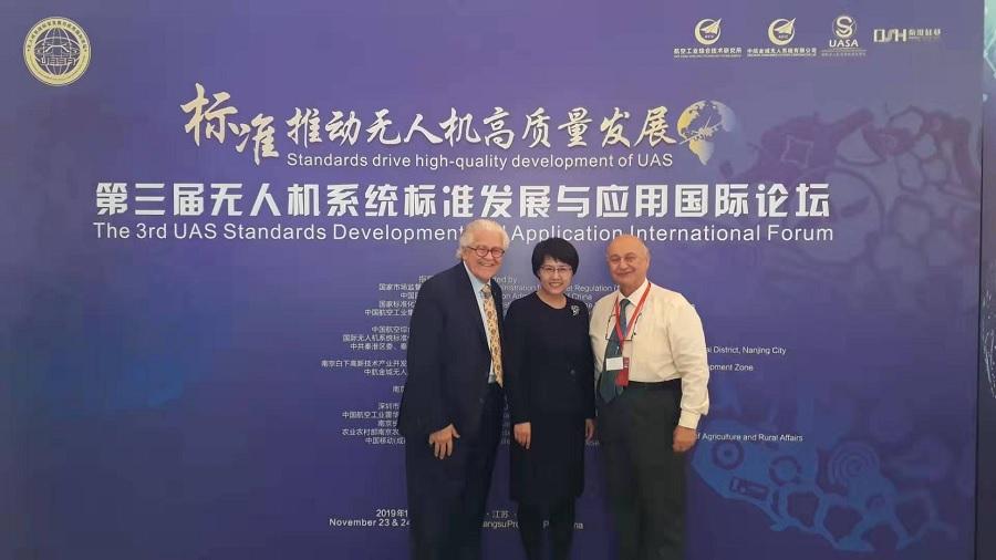 L'Unifortunato in Cina al Forum Internazionale sulla standardizzazione dei Droni