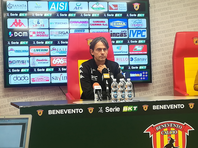 """Match clou con il Crotone, Inzaghi : """"Voglio uno stadio che bolle"""""""