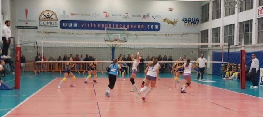 Ottimo punto a Pontecagnano per l'Accademia Volley
