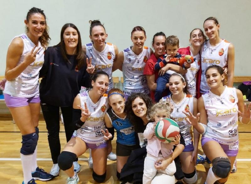 Terza vittoria consecutiva per l'Accademia Volley che batte il Volley Montoro