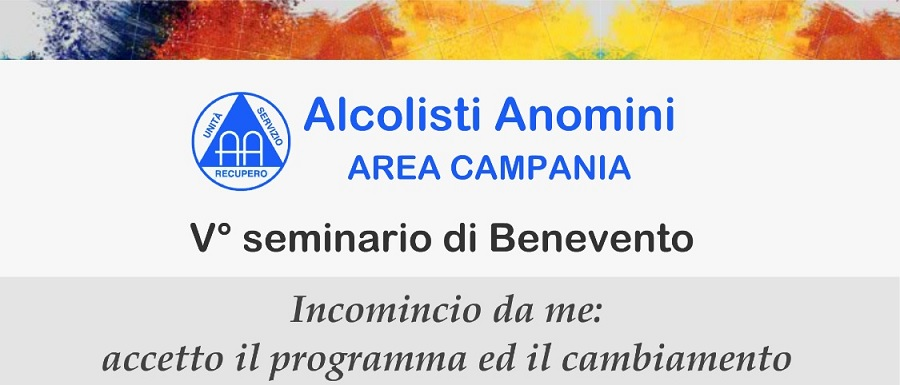 Al via il V° Seminario Alcolisti Anonimi a Benevento