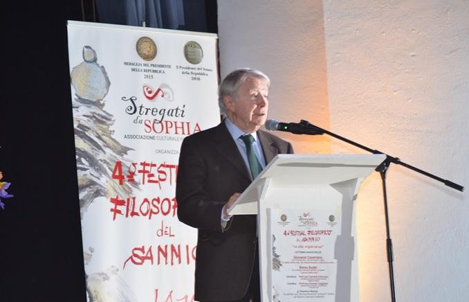 """L'Associazione Culturale """"Stregati da Sophia"""" esprimono profondo dolore per la morte del prof. Bodei"""