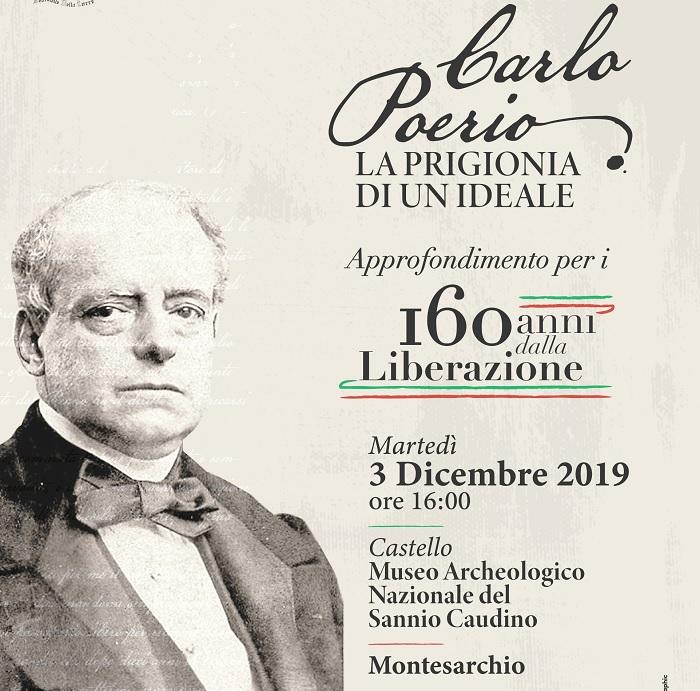 """Al Museo Caudino: """"Un pomeriggio al Museo"""" Carlo Poerio.Approfondimenti."""