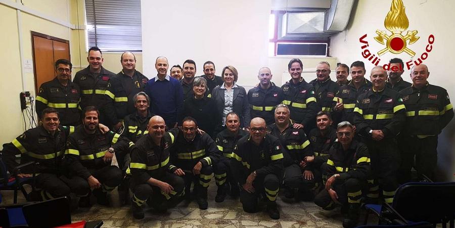 Presso il Comando dei Vigili del Fuoco di Benevento il corso per addetto al servizio di prevenzione e protezione