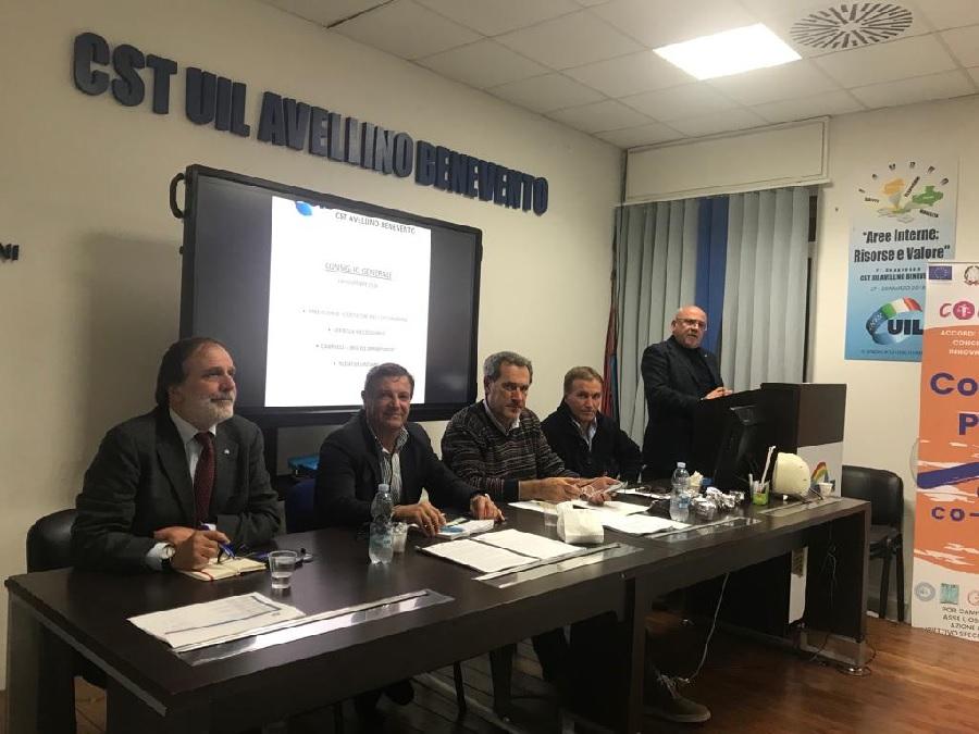 Giovanni De Luca è il nuovo componente segreteria  territoriale della Cst Uil Avellino/Benevento