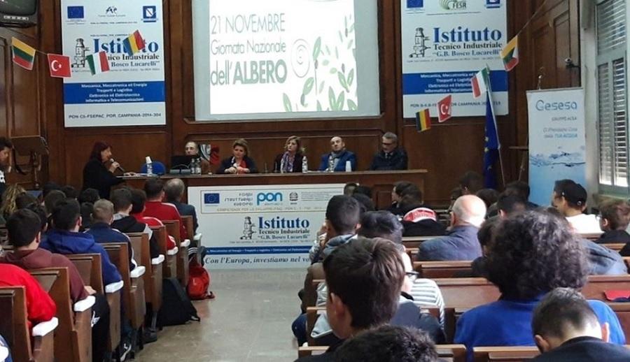 Anche Gesesa presente alla Festa nazionale dell'Albero 2019, con un progetto innovativo e sostenibile