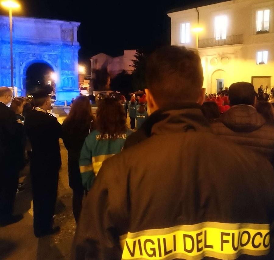 Anche i Vigili del Fuoco hanno celebrato la Giornata Universale dei Diritti dell'Infanzia.