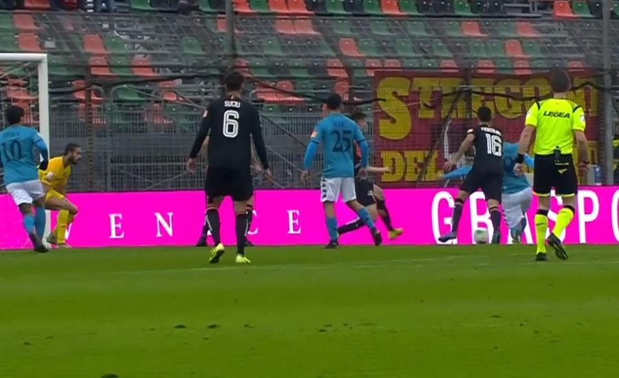 Benevento rullo compressore passa anche a Venezia. Venezia 0 Benevento 2