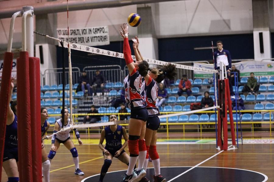 DP Noleggi SG Volley, importante vittoria contro Salerno