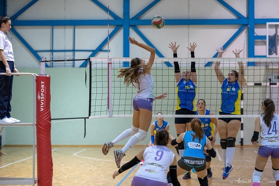 Difficile trasferta per l'Accademia Volley sabato a Pontecagnano contro la Polisportiva Due Principati Baronissi