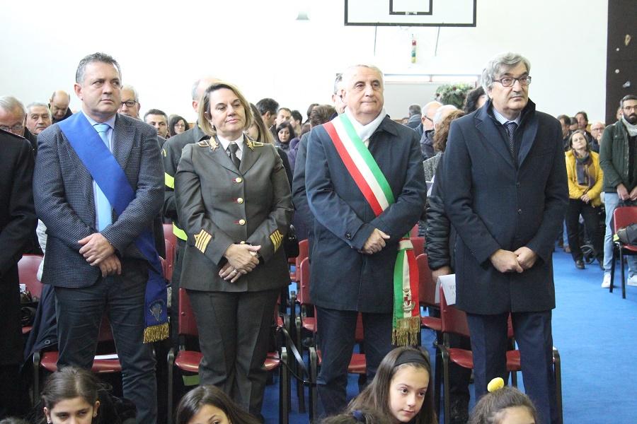 Il Presidente della Provincia Antonio Di Maria partecipa alla festività di Santa Barbara pressoi Vigili del Fuoco