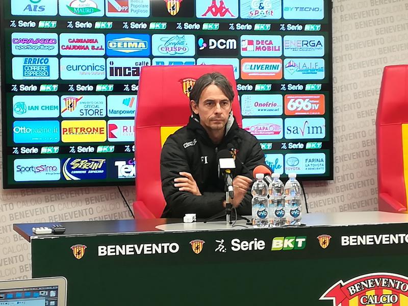 """Inzaghi :"""" Il Frosinone ha un organico da serie A ma è difficile giocare contro di noi"""""""