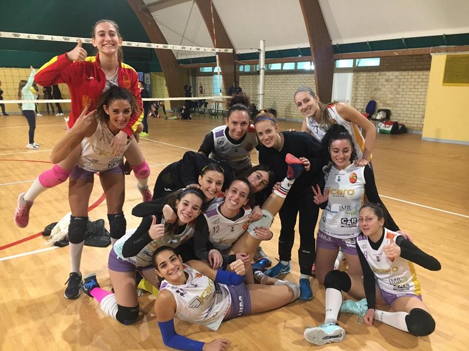 L'Accademia Volley vince ancora e vola al secondo posto