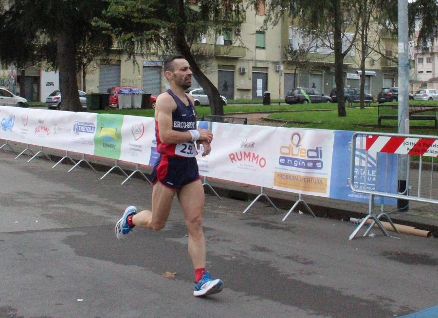 Maratona dell'Immacolata. Vince il napoletano Antonio Luongo dell'A.S.D. Erco Sport
