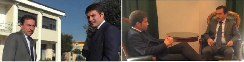 Puglianello,il DG dell'Asl Volpe in visita istituzionale: impegno per i centri di Igiene mentale e Autismo