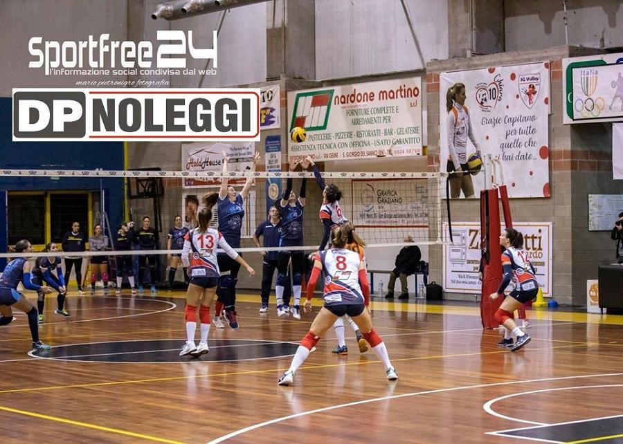 SG Volley affonda l'Oplonti e sale al terzo posto