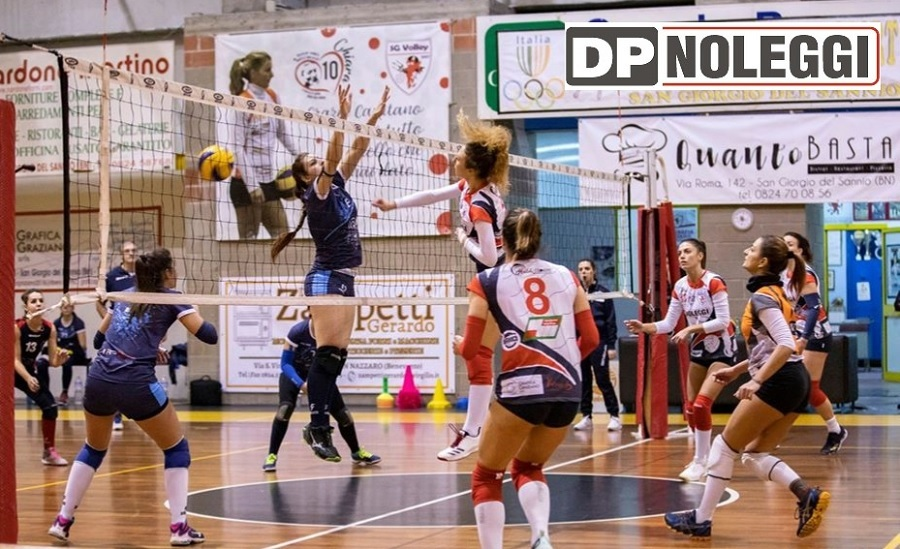 SG Volley serie C, batte Avella e si classifica al terzo posto.