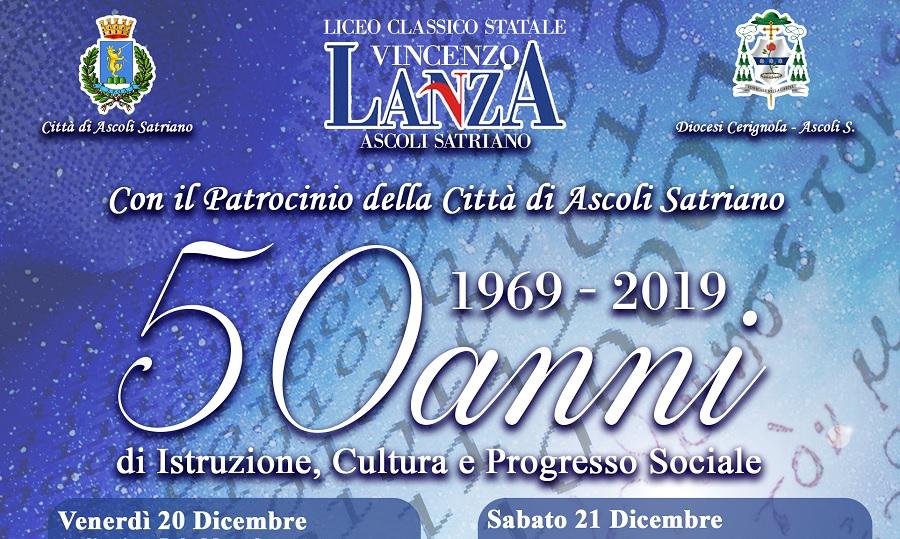 Il 20 Dicembre gemellaggio del P.Giannone con il Lanza di Ascoli Satriano