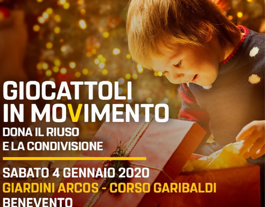 Giocattoli in MoVimento, M5S: domani Gazebo in Centro.
