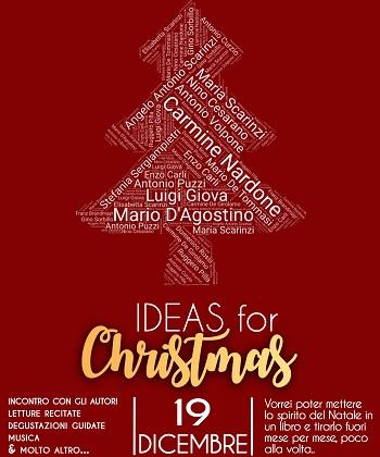 Ideas for Christmas. Incontro con gli autori, letture recitate, degustazioni e musica a Palazzo PaoloV