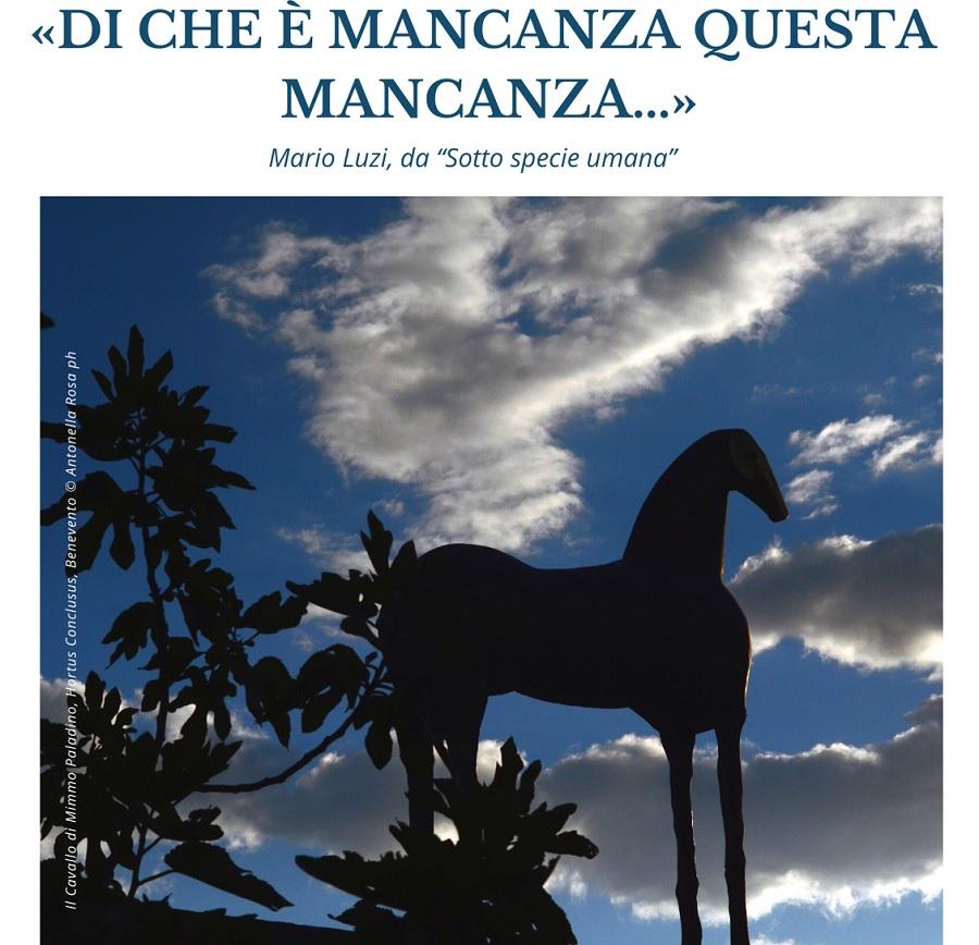 """Presso la Fondazione Gerardino Romano si tratterà il tema: """"Di che è mancanza questa mancanza…"""" di Mario Luzi"""
