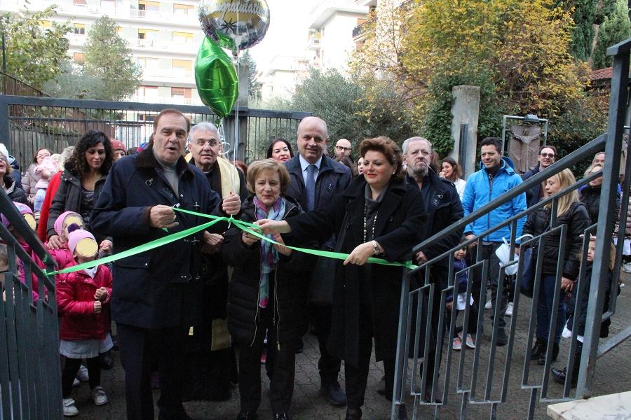 Trasferimento degli alunni del Plesso Pacevecchia a San Gennaro. Stamattina l'inaugurazione.