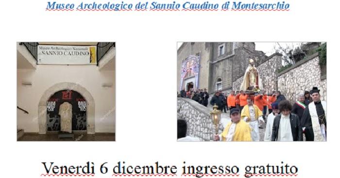 Al Museo Archeologico del Sannio Caudino il 6 Dicembre ingresso gratuito