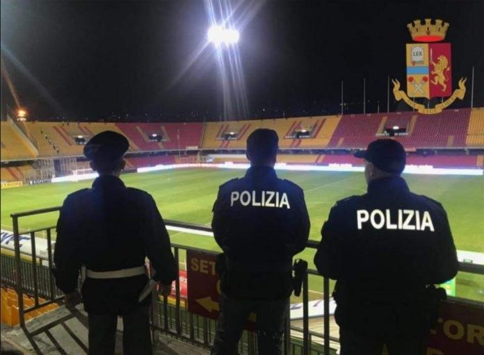 Daspo per un tifoso del Benevento per aver accesso un petardo durante Benevento – Trapani