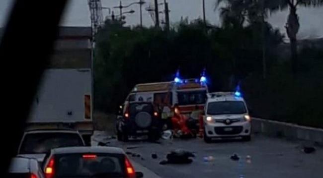Grave incidente sulla Telesina, perde la vita un motociclista.