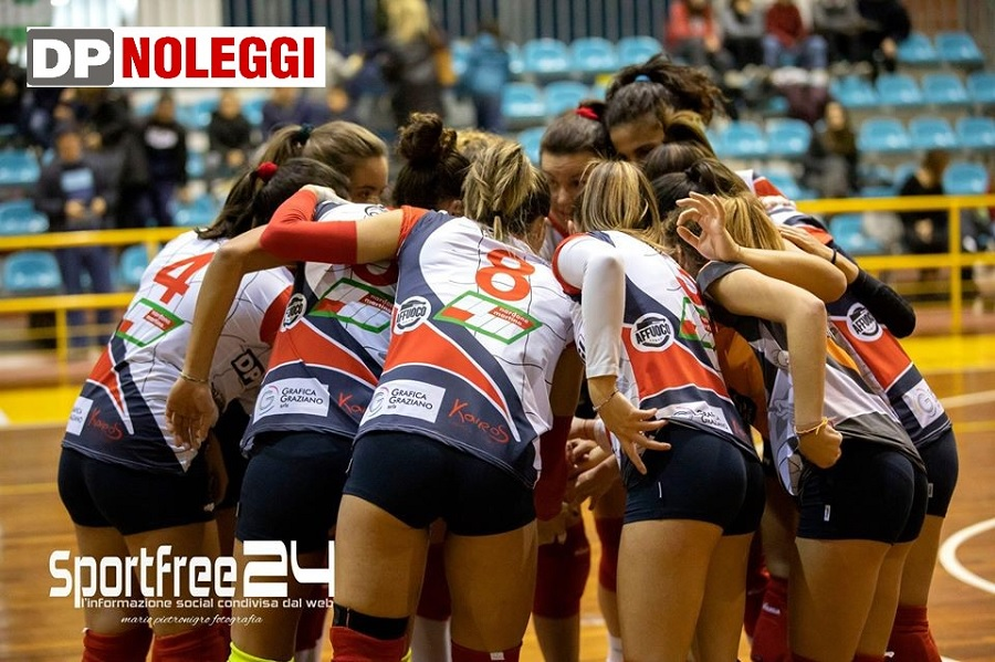 DP Noleggi SG Volley, sconfitta a testa alta sul parquet di Pozzuoli