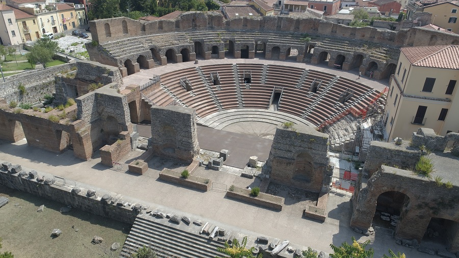 Teatro Romano, riaperto il 2 Giugno. Venerdì 5 Giugno a Benevento Marta Ragozzino