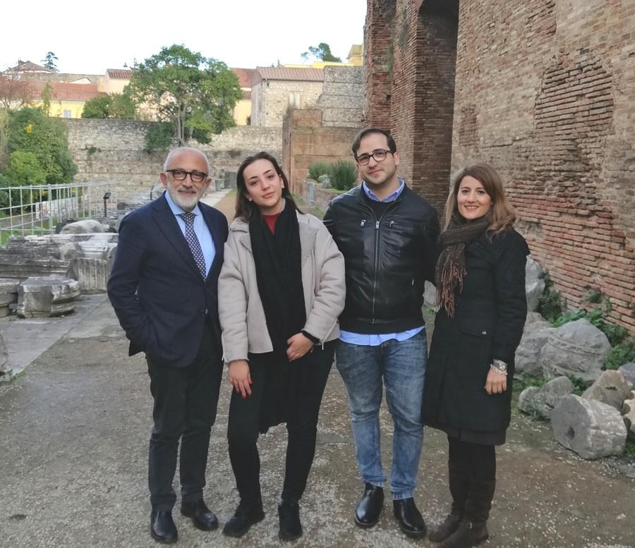 SSML Internazionale al via i Tirocini presso il Polo Museale della Campania – Teatro Romano di Benevento