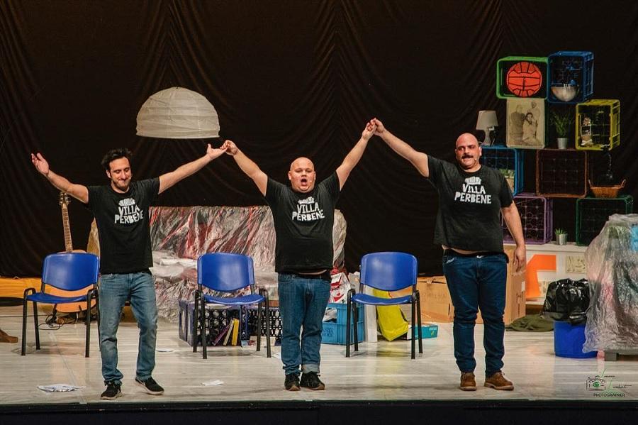 """Al Nuovo Teatro Mulino Pacifico il12 Dicembre appuntamento con il Teatro Comico """"Villa Perbene"""""""