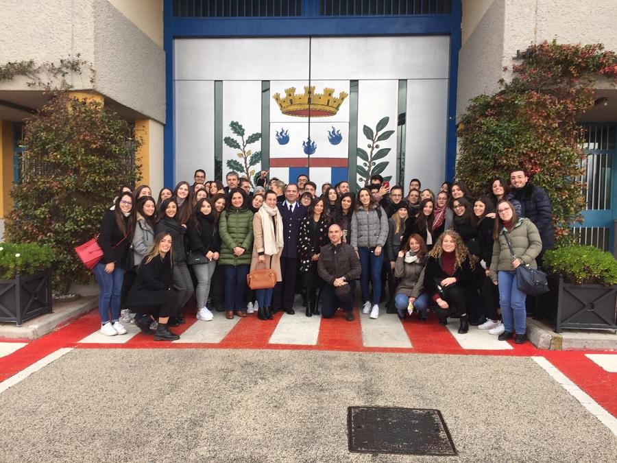 Studenti Unifortunato in visita alla Casa di Reclusione di Sant'Angelo Dei Lombardi