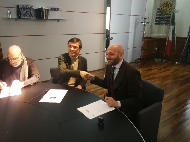 Firmata a Benevento una collaborazione tra Unisannio, Parco del Matese e Collegio dei Geometri