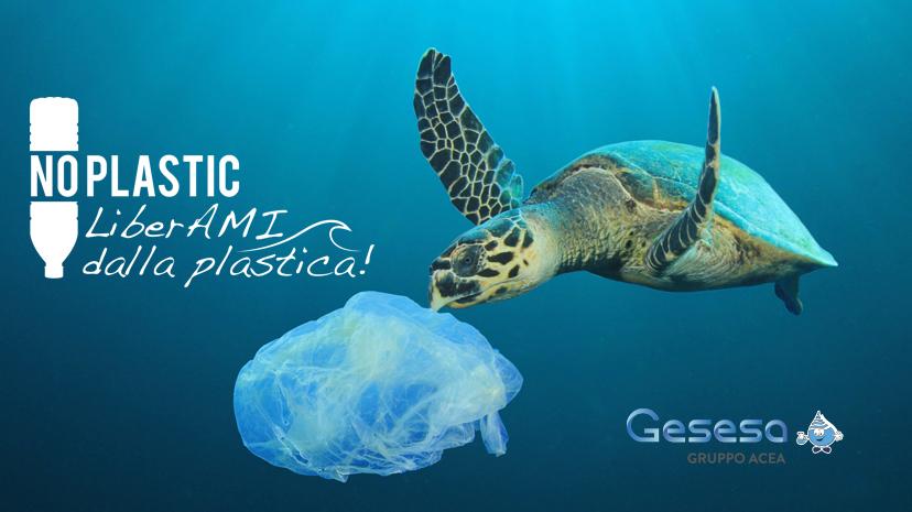 GESESA aderisce alla Campagna di Sensibilizzazione di Ambiente Mare Italia per un mare finalmente libero dalla plastica